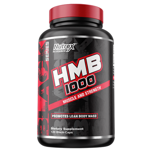 Testosterone Booster Nutrex HMB 1000 [120 Caps] - Chrome Supplements and Accessories