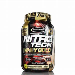 MuscleTech Nitro-Tech 100% Whey Gold French Vanilla [999G]