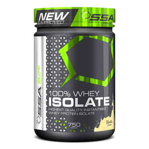 Whey Isolate SSA 100% Whey Isolate [750g] - Chrome Supplements and Accessories