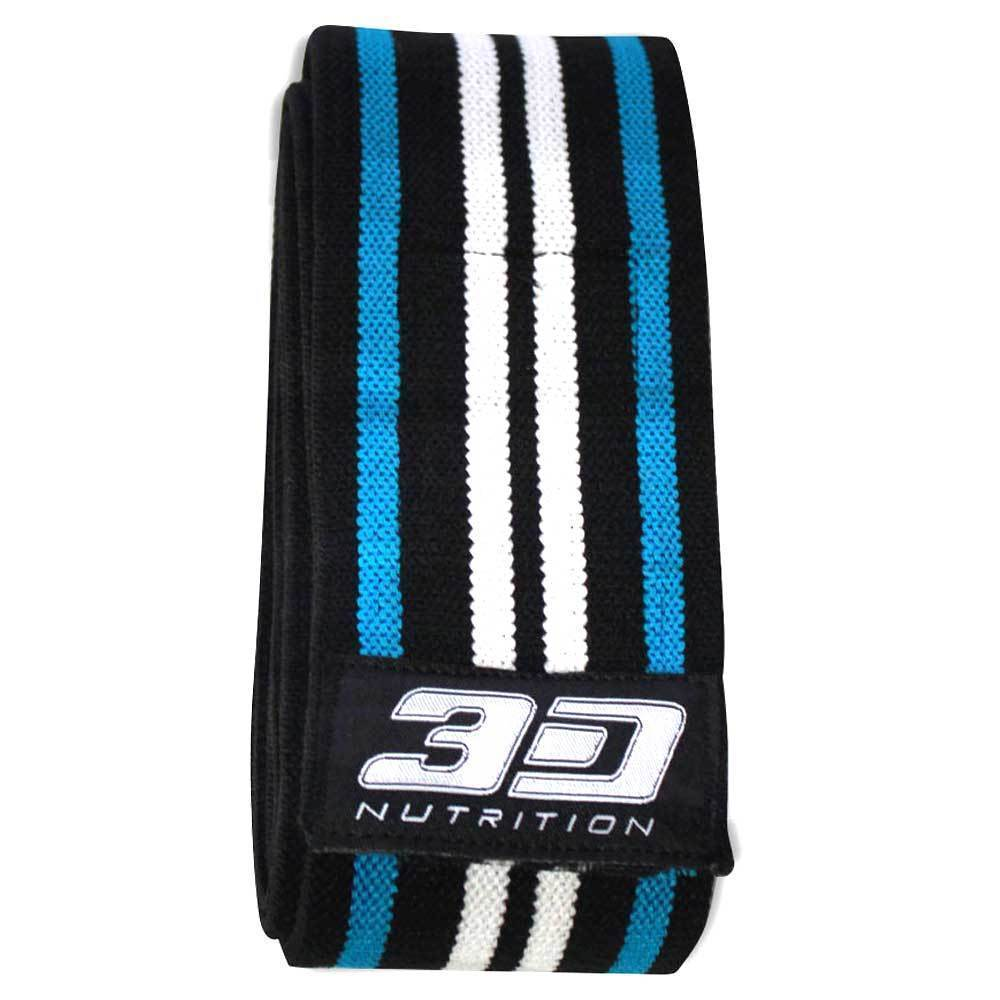 Wraps 3D Nutrition Knee Wraps - With 3D Lifting Support - Chrome Supplements and Accessories