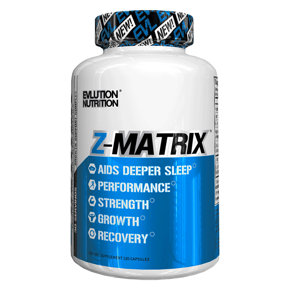 ZMA EVLution Nutrition Z-Matrix [120 Caps]