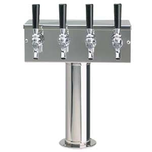 4 Product Glycol Tee Tower  Stainless Steel 1132