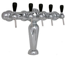3545 Monaco, Chrome European Imported Tee Tower, 5 Products - 3545