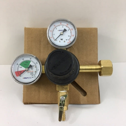 Dual Gauge Soda CO2 Regulator (10-160psi) - 6252