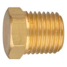 6666 1/4 NPT Male Plug with hex Head - Left Hand Thread - 6666