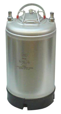 Ball Lock 2 1/2 Gallon Soda Keg - New - 7238