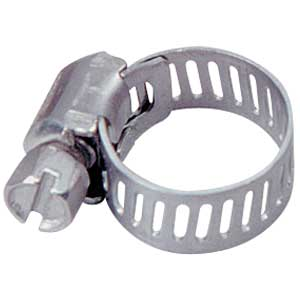 TEN PACK Worm Drive Hose Clamp for 7/16 to 9/16 Hose - 7332