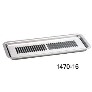Flush mount- Louvered grid-Recessed, 24' L