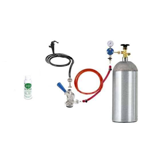9801 Basic Tailgate Kit with a 5 pound CO2 Cylinder - 9801