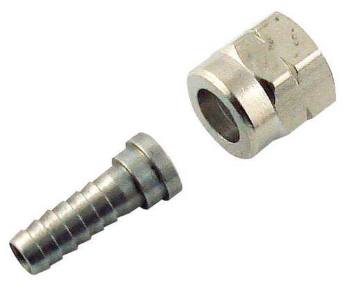 SS 3/8 FFL to 3/8 tube Swivel Nut Assembly - 9923