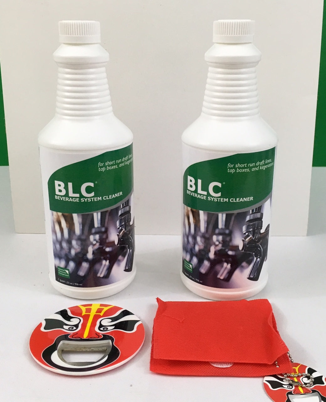 BLC Beer Line Cleaner Two Bottles 32oz. each