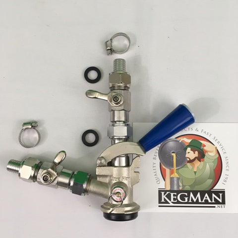 D Keg Cleaning & Filling Coupler - 5328