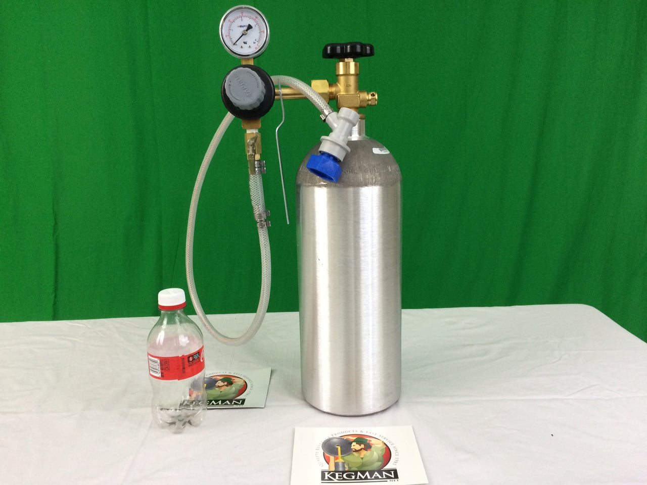 Seltzer Making Bottling Kit, Single regulator