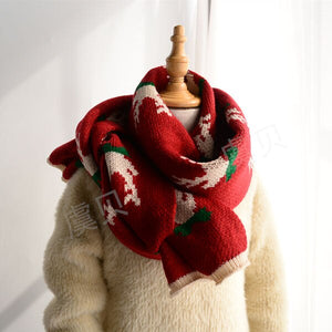 Open image in slideshow, Red deer scarf