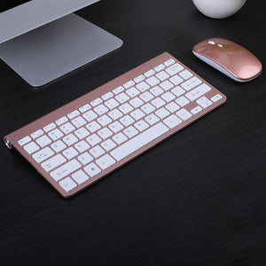 Open image in slideshow, Wireless keyboard and mouse can be charged