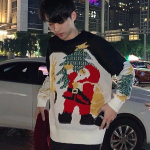 Open image in slideshow, New fashion winter christmas sweater