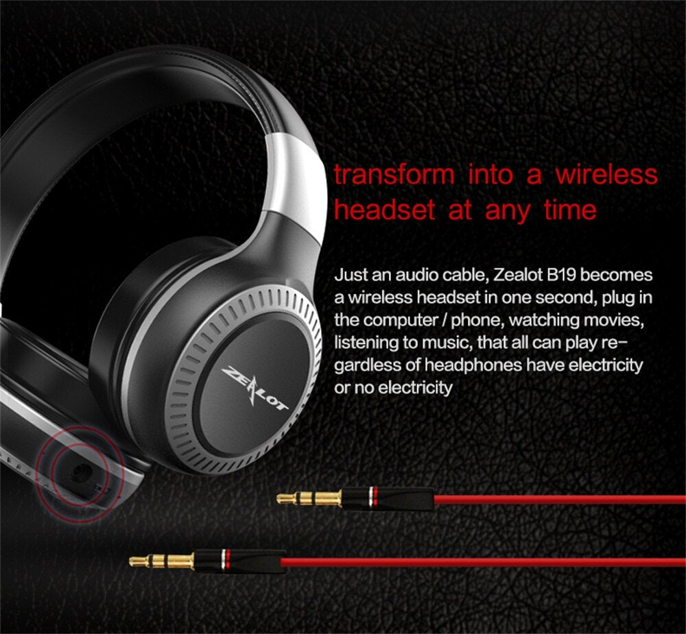 ZEALOT B19 Wireless Headphones