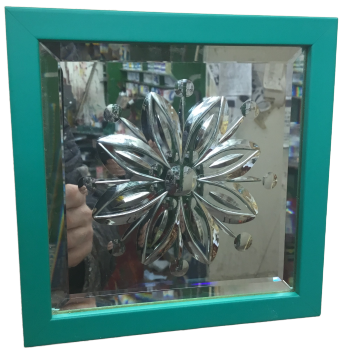 Cut Glass Mirrors - Chrysanthemum