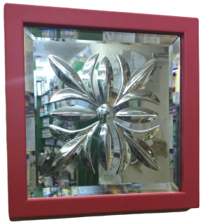 Cut Glass Mirrors - Thistle