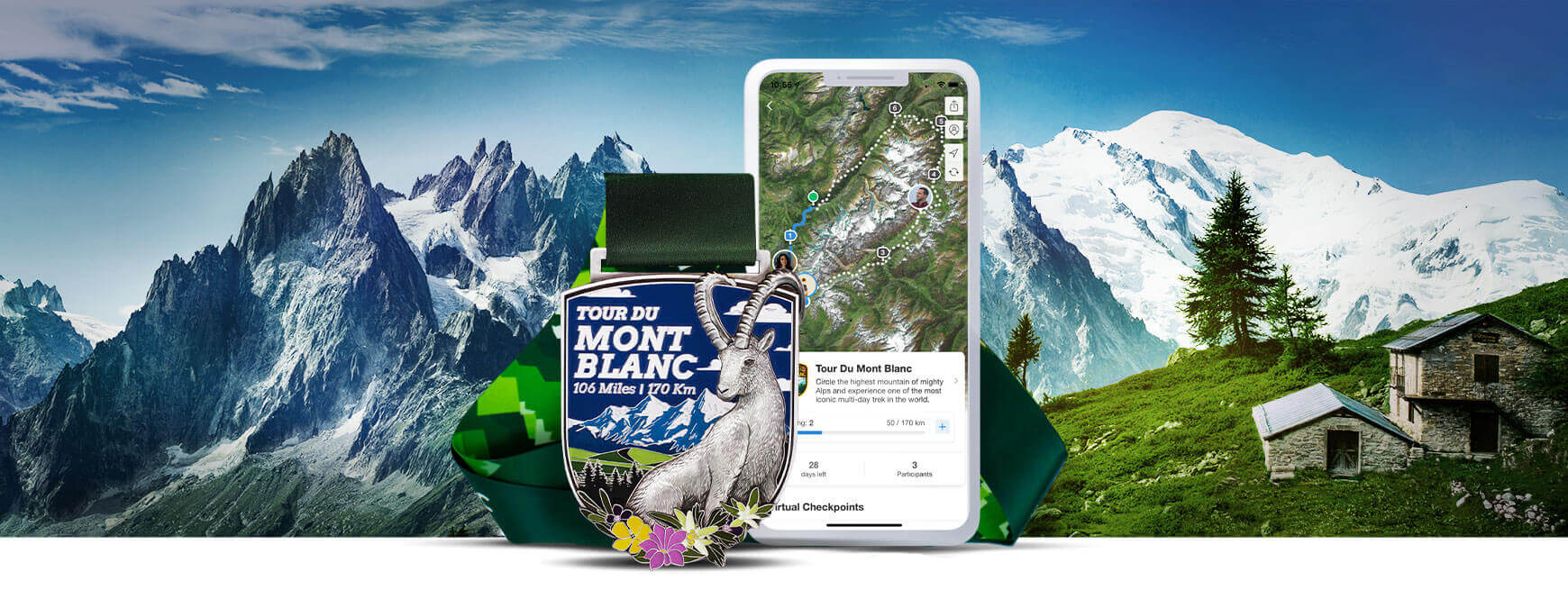 Tour du Mont Blanc Virtual Challenge
