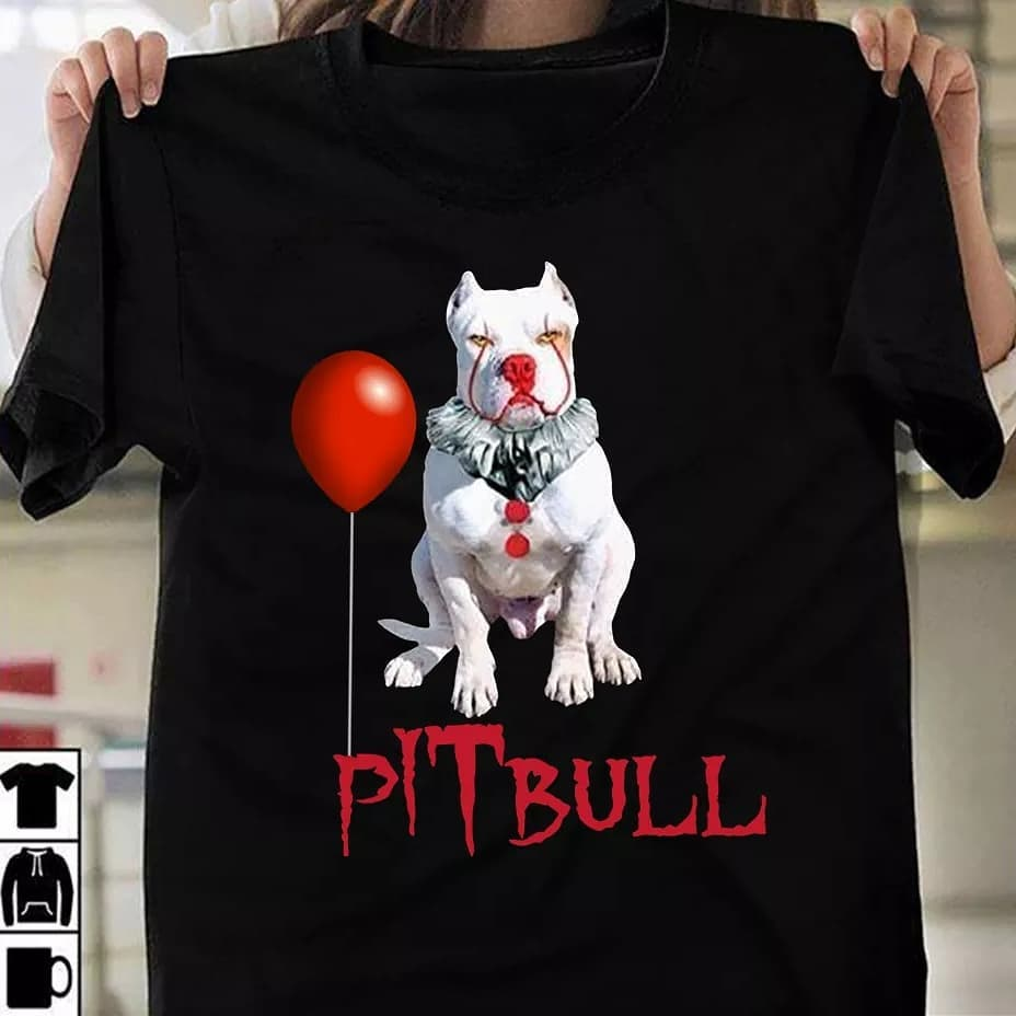cute and lovely pitbull shirt (5935636578484)