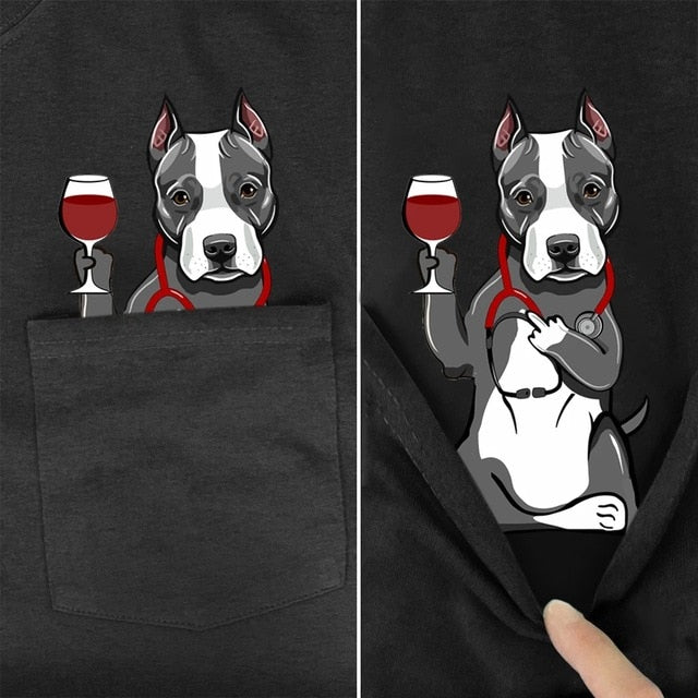 cute and lovely pitbull shirt (5923374006452)