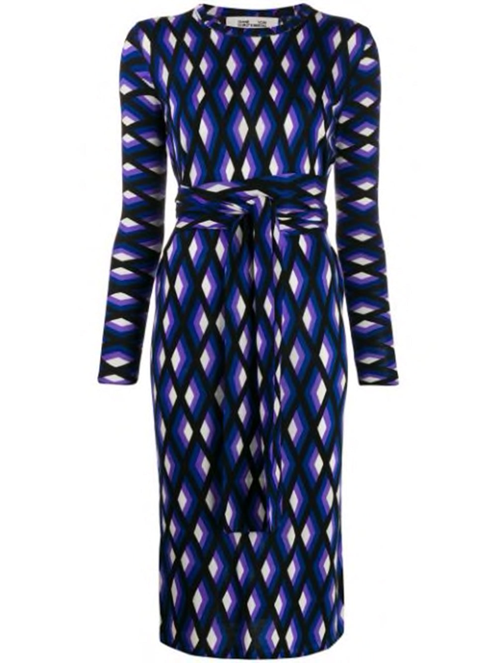 Diane von Furstenberg  GABEL Jersey Fake Wrap Dress