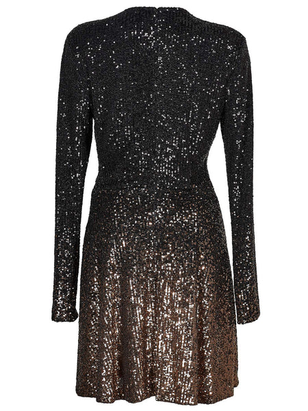 DvF Diane von Furstenberg Savanna Sequin Mini Dress