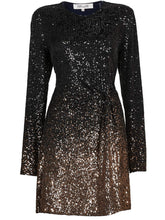Load image into Gallery viewer, DvF Diane von Furstenberg Savanna Sequin Mini Dress