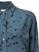 Load image into Gallery viewer, Equipment Star Print Silk Shirt