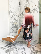 Load image into Gallery viewer, Kayll Olivia Silk kimono