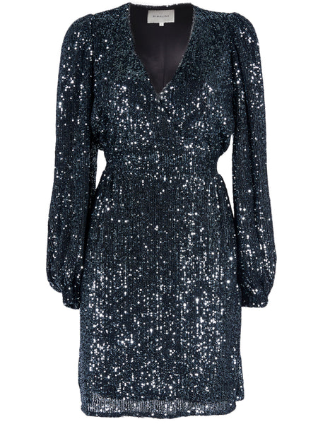 BY MALINA Joan Sequin Dress Mini