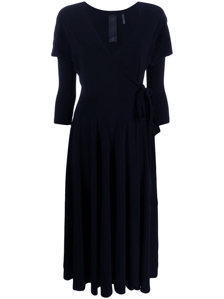 NORMA KAMALI WRAP DRESS