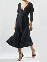 Load image into Gallery viewer, NORMA KAMALI WRAP DRESS