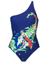 Load image into Gallery viewer, Norma Kamali one shoulder swimsuit