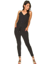 Load image into Gallery viewer, abigail jumpsuit black