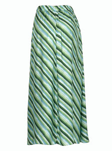 joano striped long skirt