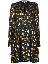 Load image into Gallery viewer, DvF Diane von Furstenberg Mylah Chiffon Mini Dress