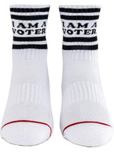 "Load image into Gallery viewer, ""I Am A Voter"" Socks"