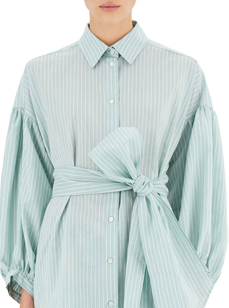 baleari stripe blouse