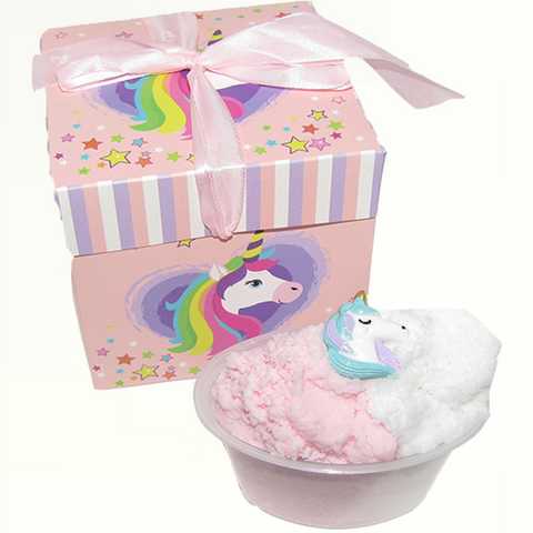 Strawberry and Cream Cloud Slime with Gift Box