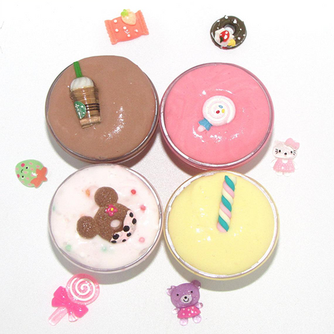 Cupcake Coffee Cappuccino Slime + 1 Squishy