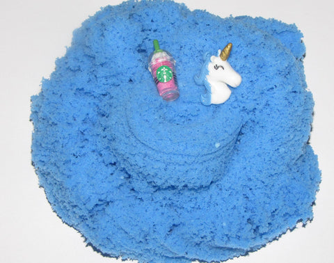 Blue Unicorn Cloud Slime