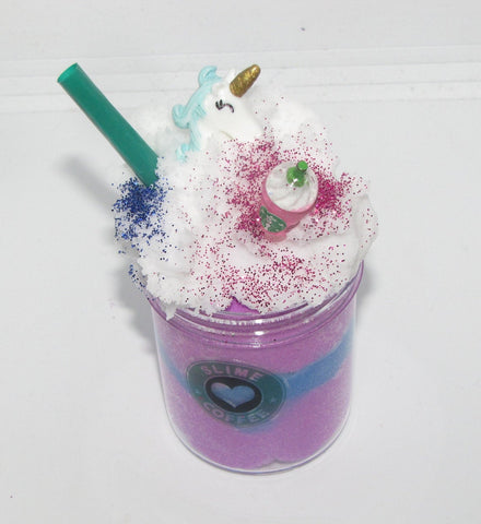 Unicorn Frappuccino Starbucks Cloud Slime