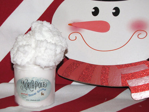 North Pole Marhsmallow Cloud Slime