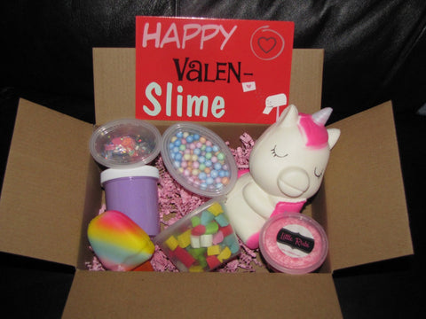 Valentines Mystery Slime Box (Slime + Squishies)