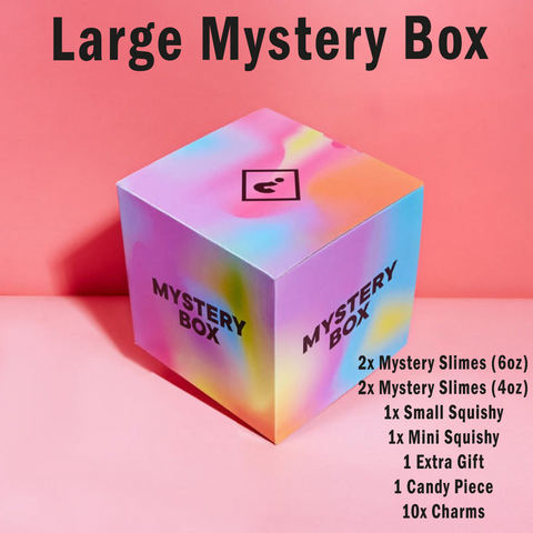 Large Mystery Box of Slimes and more Extras