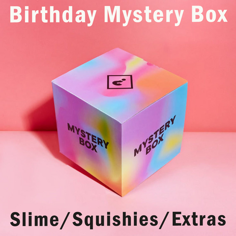 Birthday Slime Mystery Box + Extras
