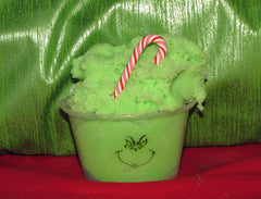 Green Grinch Cloud Slime