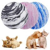 New Pet Dog Cat Ball Toy EVA Planet Texture Pet Balls Cat Toys Fun Sport Training Puppy Toy Ball Pet Supplies Small Dog Toys